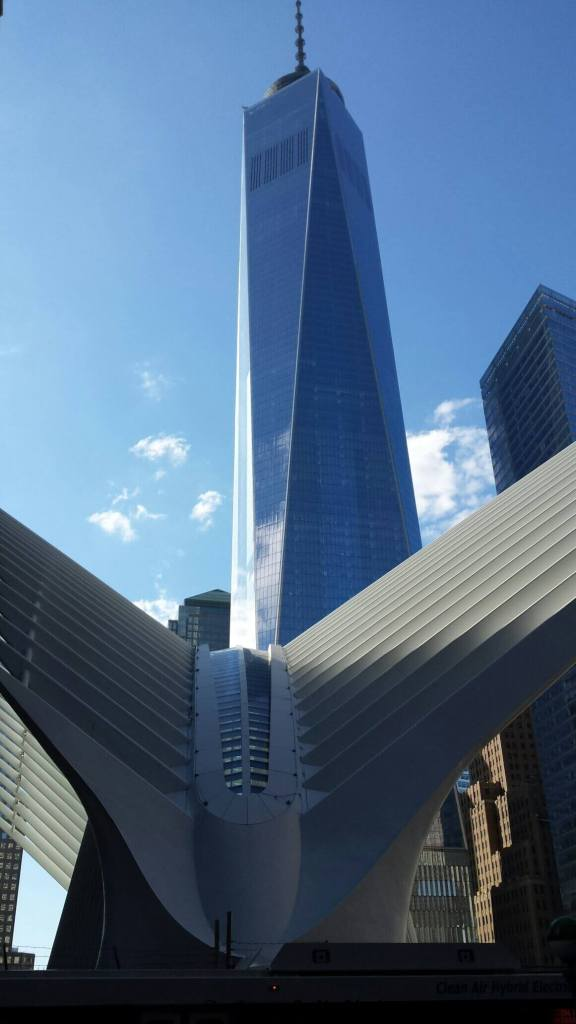 World Trade Center and the Oculus