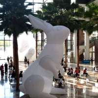 Here Come the Bunnies, Intrude at Brookfield Place
