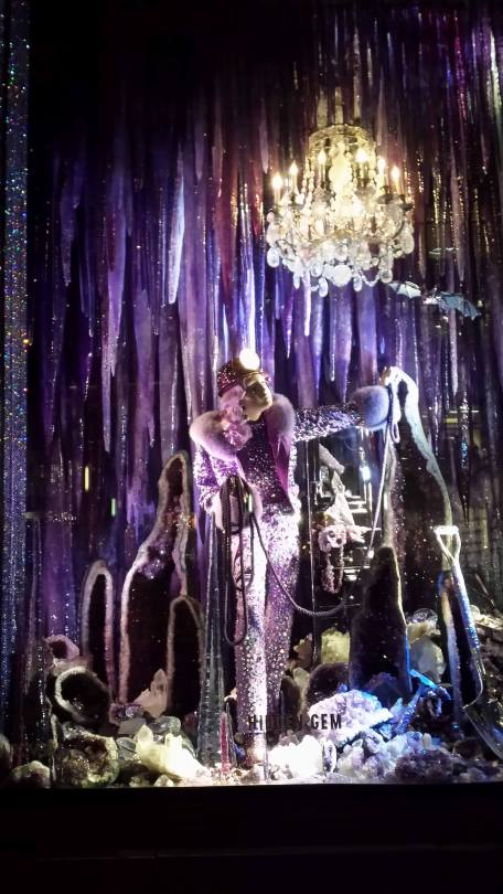 Hidden Gem, the windows at Bergdorf's in NYC 2015, Christmas in July