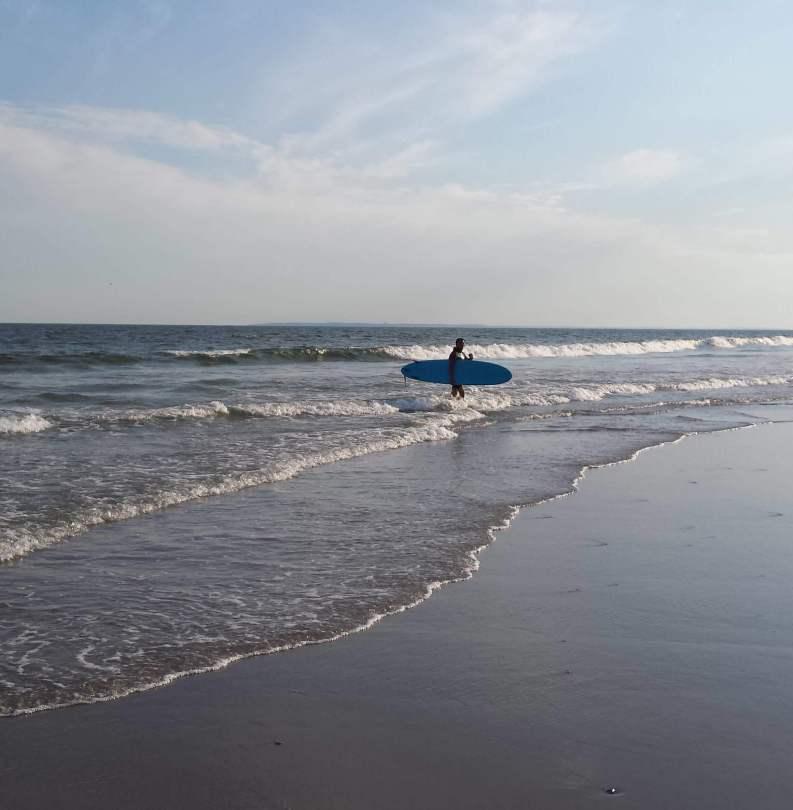 Rockaway Surfing Beach, NYC