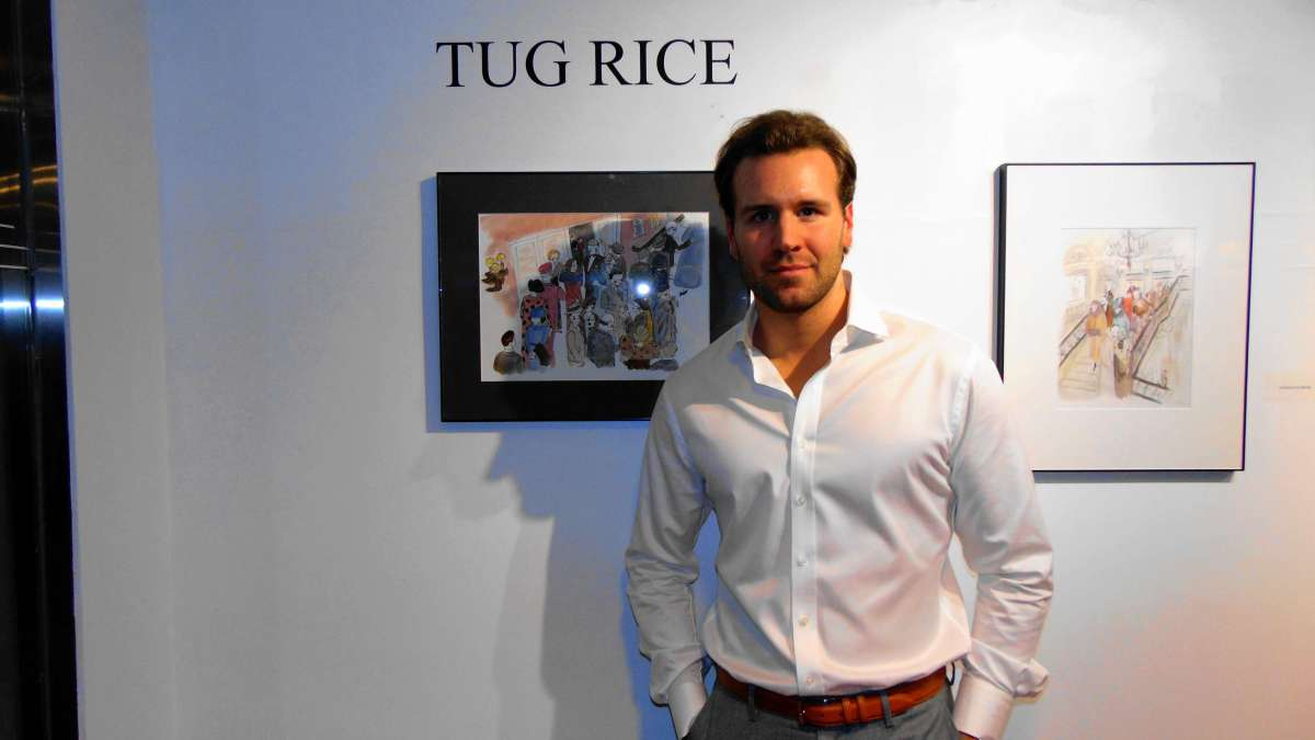 Rendezvous with the Artist Tug Rice