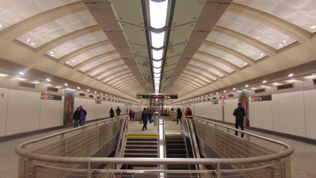 Subway Rendezvous En New York