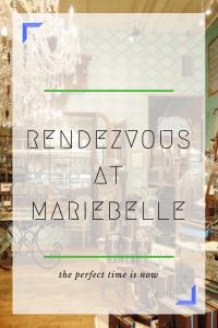 Decadent Rendezvous At Maribelle Rendezvous En NewYork