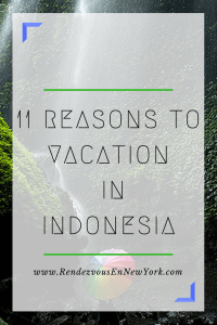 A Vacation in Indonesia, Rendezvous En New York