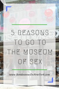 Museum of Sex in NYC, Rendezvous En New York