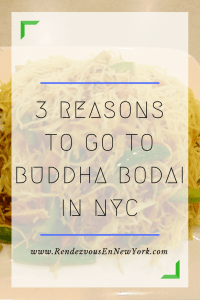 Buddha Bodai in NYC Rendezvous En New York