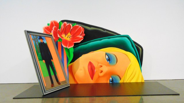 Standing Still Lifes by Tom Wesselmann at Gagosian Gallery in NYC, Rendezvous En New York