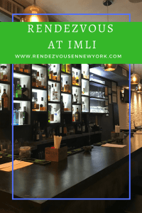 Imli Restaurant in NYC , Rendezvous En New York