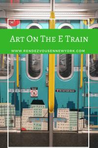 Art on the E train, Rendezvous En New York