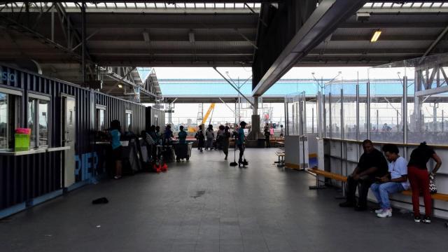 Rollerskating Pier 2 at Brooklyn Bridge Park, NYC Rendezvous En New York