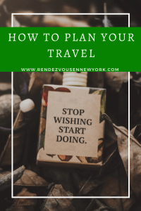 Figuring Out Your Next Step In Planning Travel