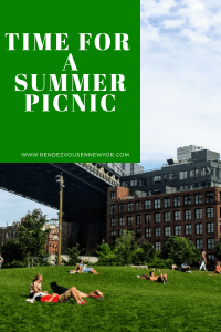 Never too hot for a picnic in NYC , travel