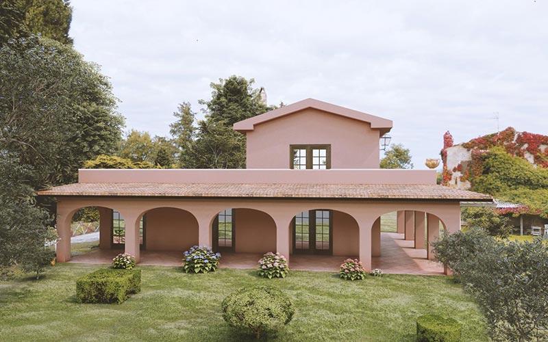 Villa a Pitigliano - Località Doganella