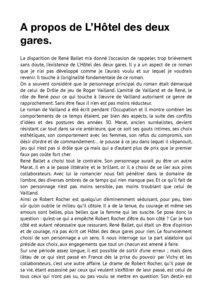thumbnail of A propos de l'Hôtel des deux gares – François Eychart