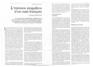 thumbnail of L'histoire singulière d'un nazi français – Charles Haroche