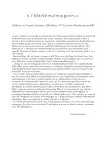thumbnail of Mediatec – Francis Combes