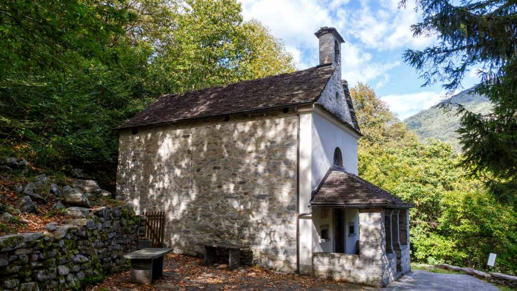 Kapelle bei Vosa