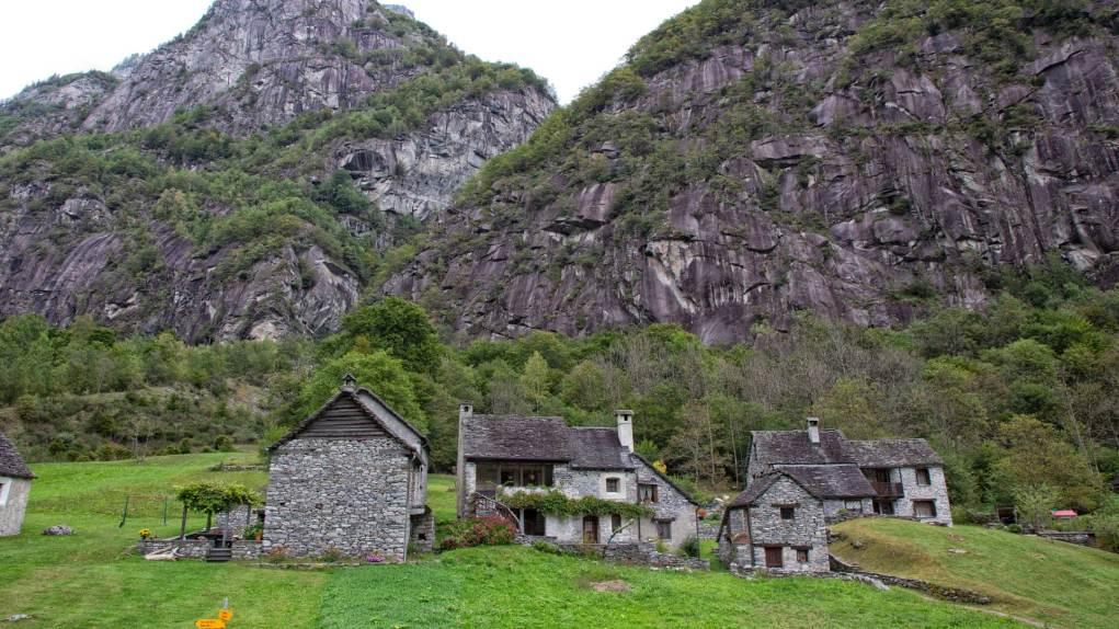 Das Dorf Faedo