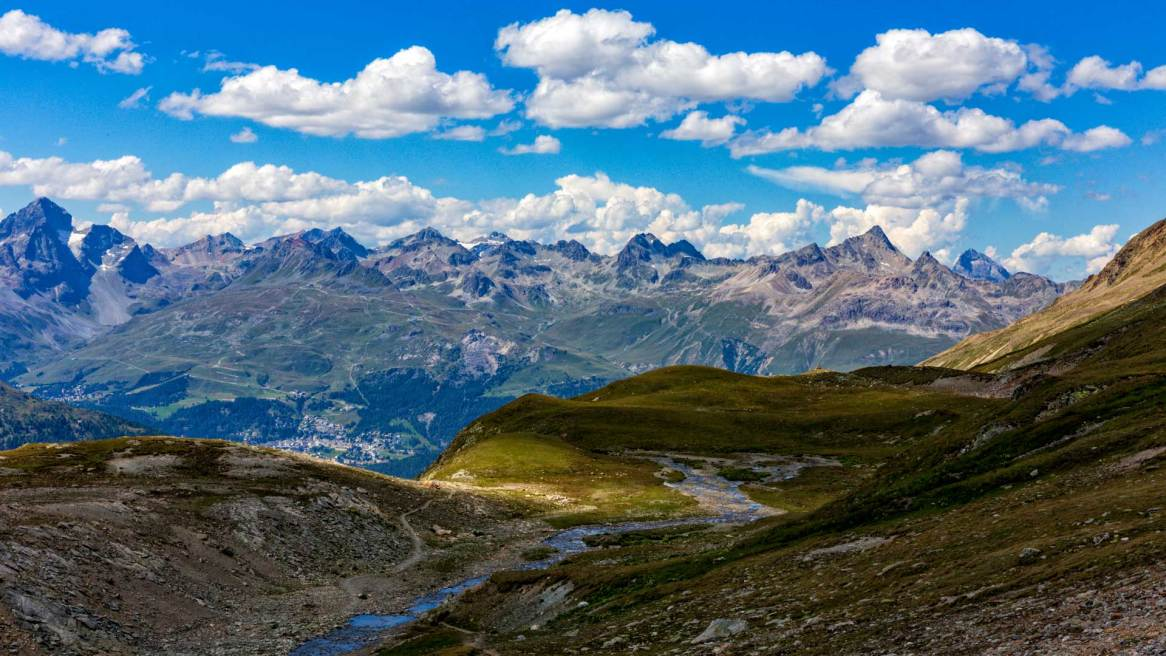 Die Bergwelt des Oberengadins