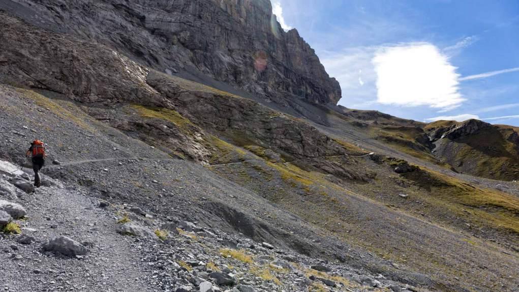 Weg zur Eiger Station