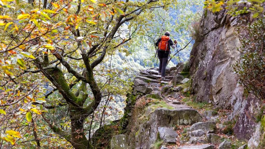 Rundwanderung von Maggia ins Valle del Salto