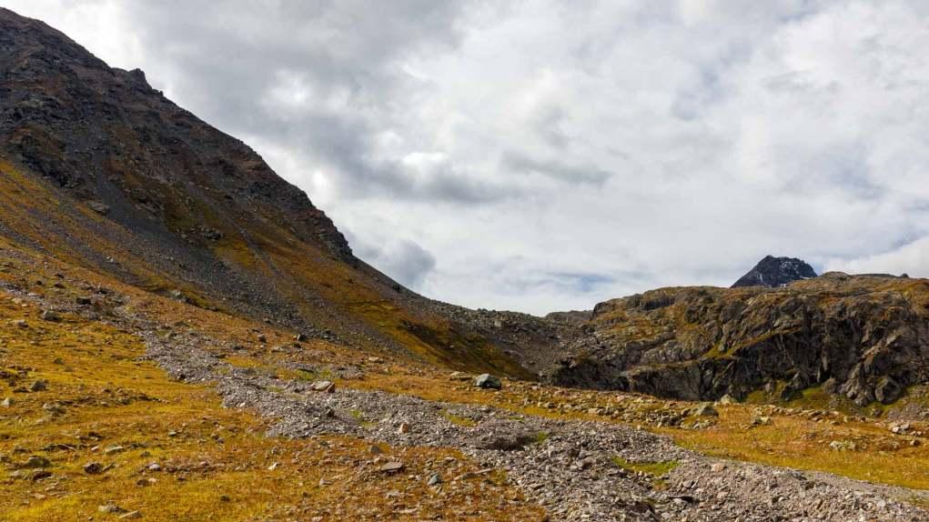 Sicht zum Scalettapass