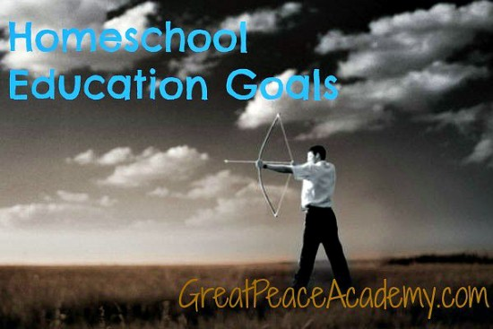 Arrow in the Hand: Educational Goals for training up in the nurture of God's Word at Great Peace Academy