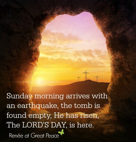 The Lord's Day a scriptural look at the importance of the first day of the week by Renée at Great Peace Academy