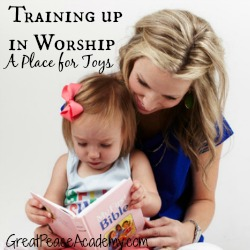Training up in Worship Toys Thumbnail