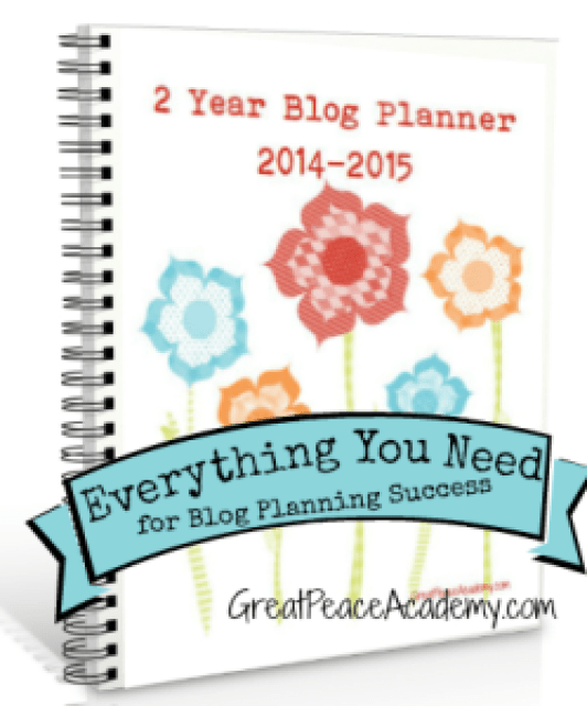 Everything you need for blog planning success Blog Planner
