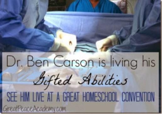 Dr. Ben Carson to speak at GHC
