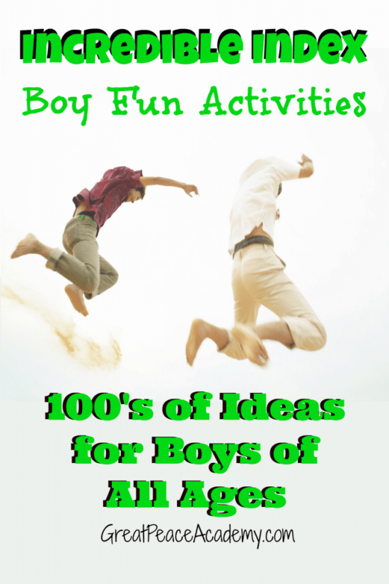 Incredible Index of Boy fun, Part 1 | Great Peace Academy