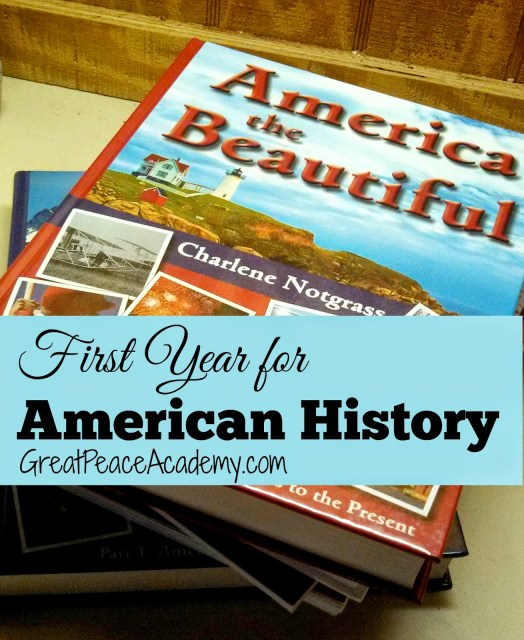American History with Notgrass History at Great Peace Academy