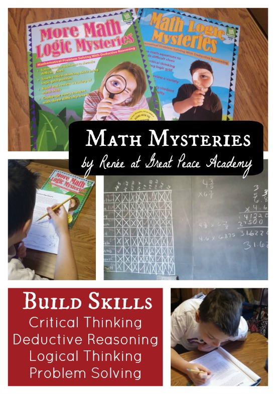 Build important thinking skills with math mysteries. | Great Peace Academy