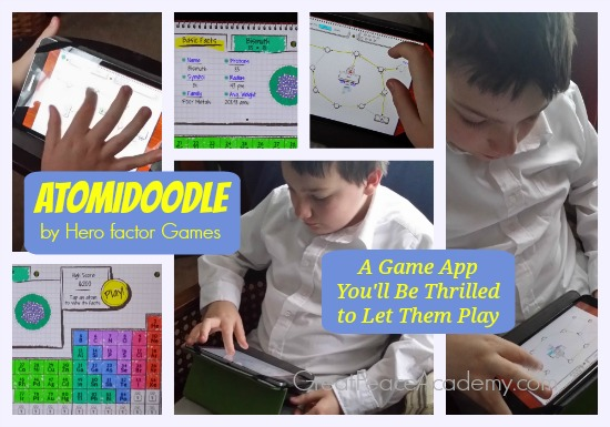 10 cool ways to study the periodic table in homeschool atomidoodle game app review teach your kids the periodic table with this fun and challenging urtaz Image collections