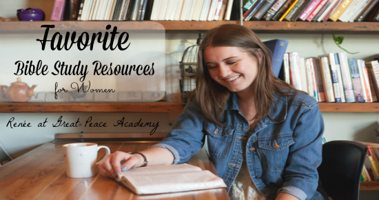 Finding Peace: Favorite Bible Study Resources | Great Peace Academy