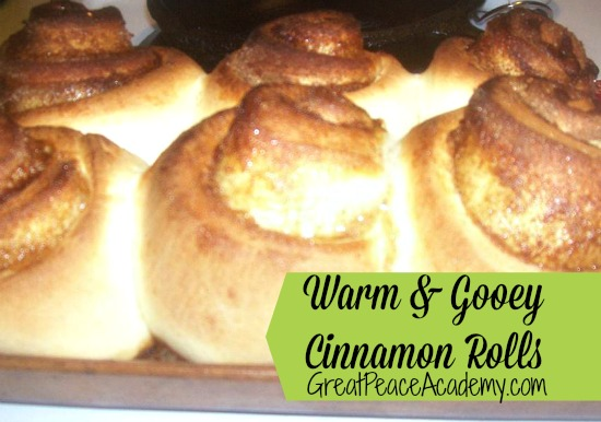 Warm and Gooey Cinnamon Rolls Recipe at Great Peace Academy