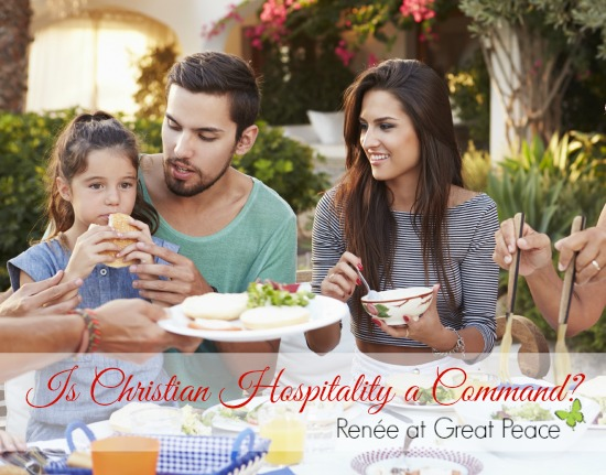 Is Christian Hospitality a Lifetime Commitment? by Renée at Great Peace