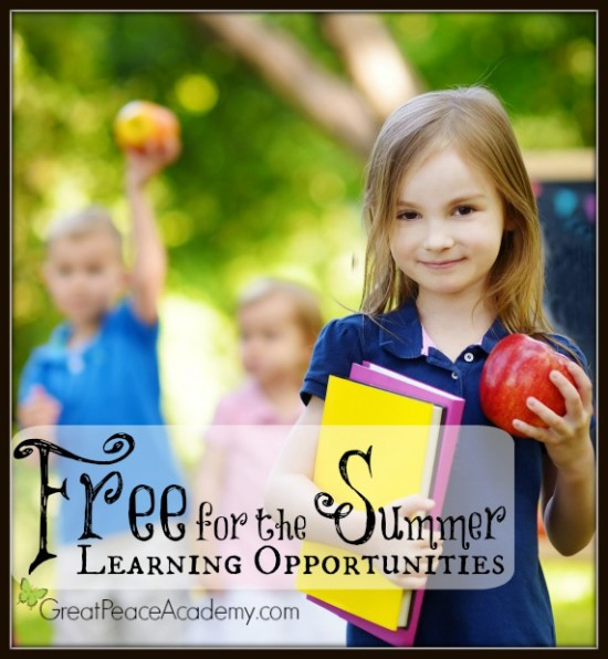Free for the Summer Learning Opportunities   Great Peace Academy