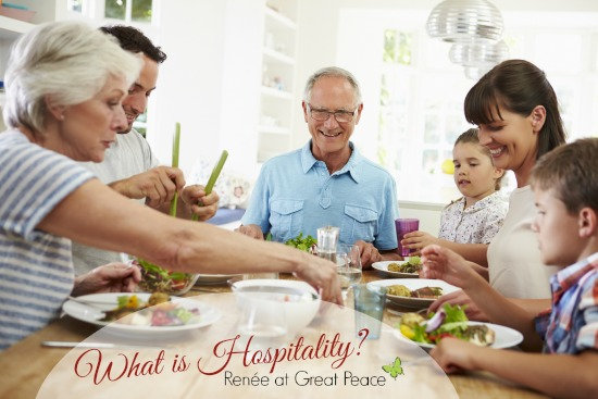 What is hospitality? by Renée at Great Peace