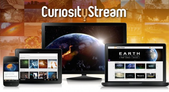CuriosityStream Educational Video Channel