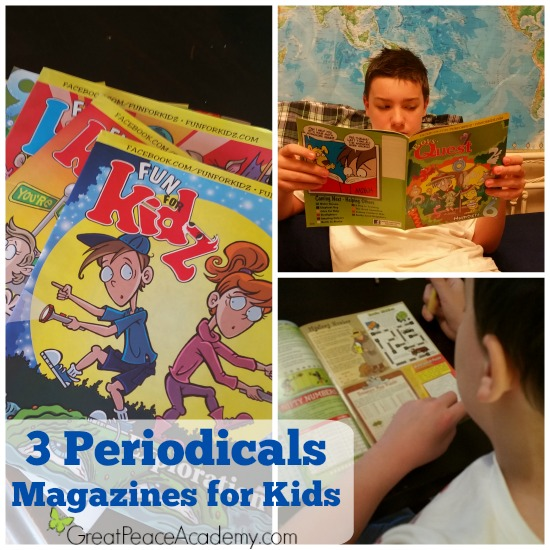 Educational, Fun, Magazines for Kids | GreatPeaceAcademy.com #ihsnet @funforkidzmag