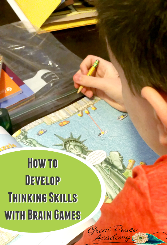 Develop Thinking Skills with Brain Games | GreatPeaceAcademy.com #ihsnet