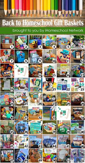 Back to Homeschool Basket Giveaways via iHomeschool Network