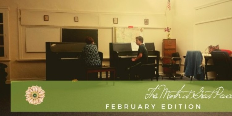 This Month at Great Peace Academy   #ihsnet #homeschool #family