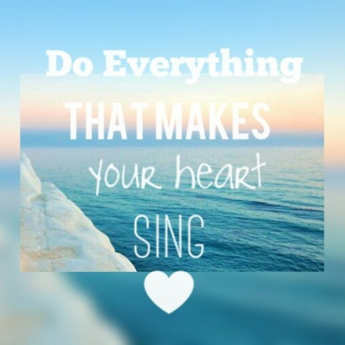 Make your heart sing