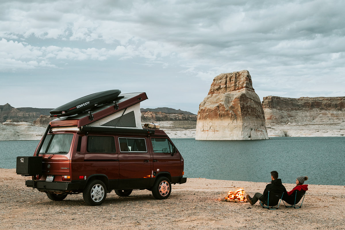 Van Life Lone Rock - Renee Roaming