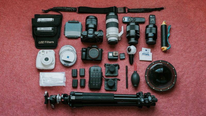 Travel Photography and Blogging Gear
