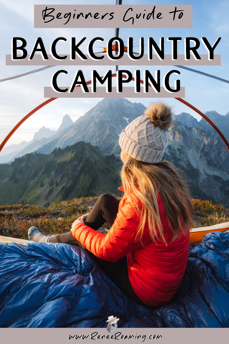 Get Outside: A Beginners Guide to Backcountry Camping