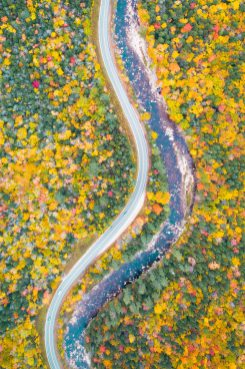 New England Fall Road Trip Ultimate Itinerary Renee Roaming Kamancagus Highway White Mountains New Hampshire